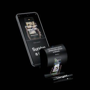 iPhone XS Longscroll Mockup .psd素材下载