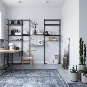 White workplace_New render & design