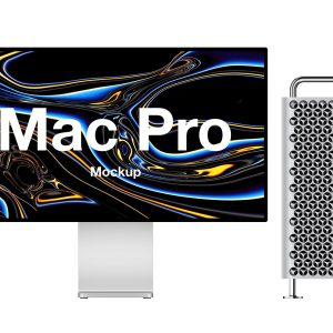 Mac Pro Mockup .sketch .psd .fig