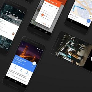 Android Nougat GUI ui kit .sketch .psd & .xd素材下载