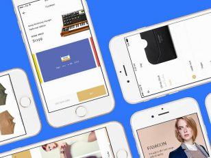 Fashion e-Commerce app UI Sketch素材下载