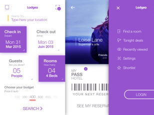 Lodgeo Booking App