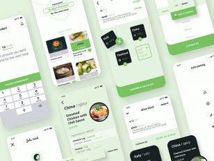 美食外卖app ui .xd素材下载