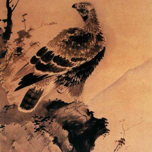 鹰鹊图 吕纪