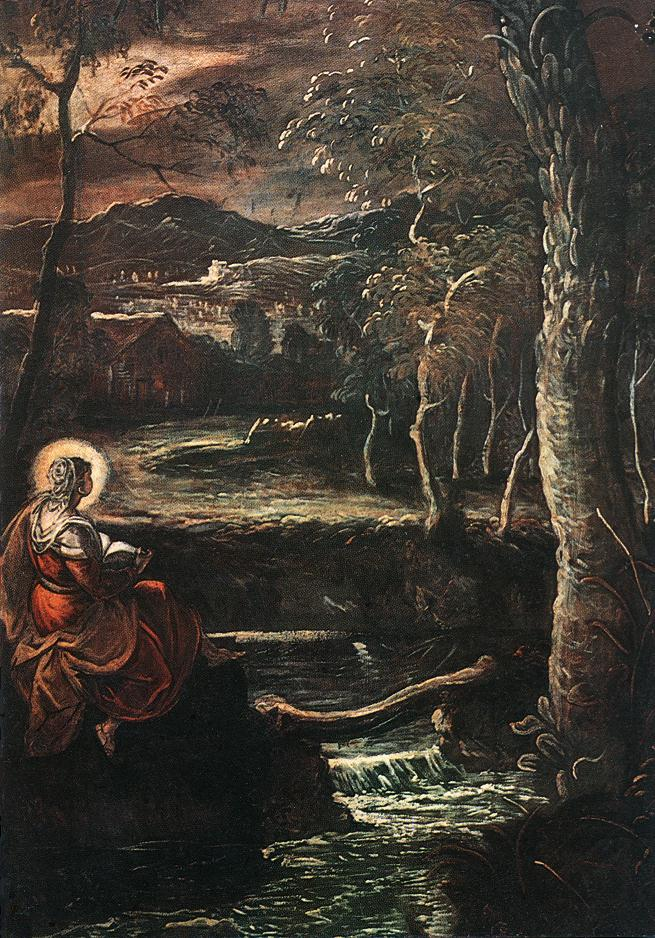 意大利画家-丁托列托(Tintoretto)St Mary of Egypt