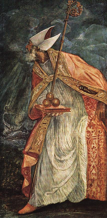 意大利画家-丁托列托(Tintoretto)St Nicholas