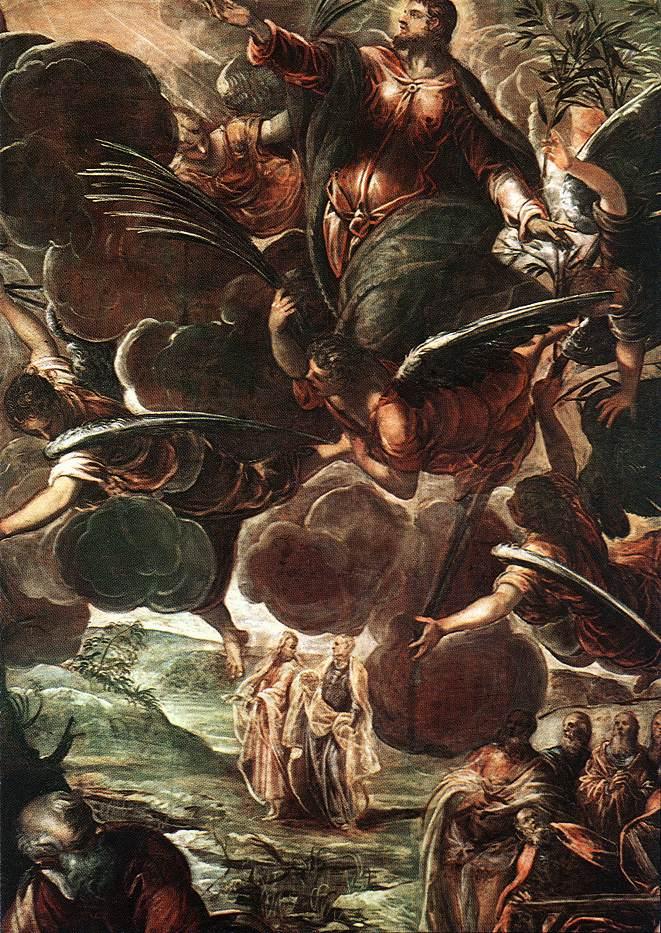 意大利画家-丁托列托(Tintoretto)The Ascension