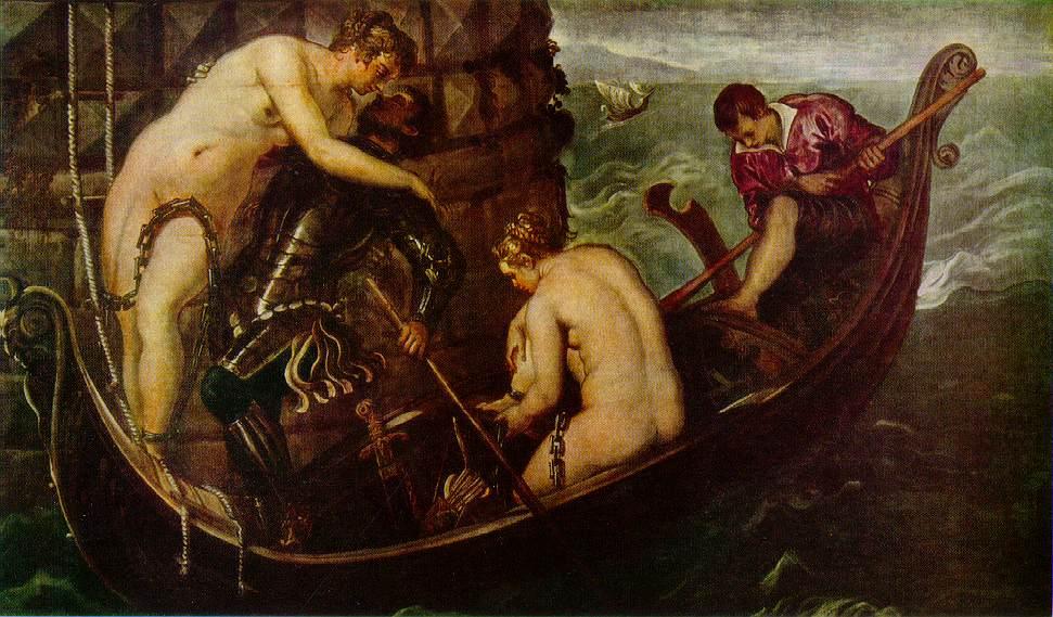 意大利画家-丁托列托(Tintoretto)The Deliverance of Arsinoe