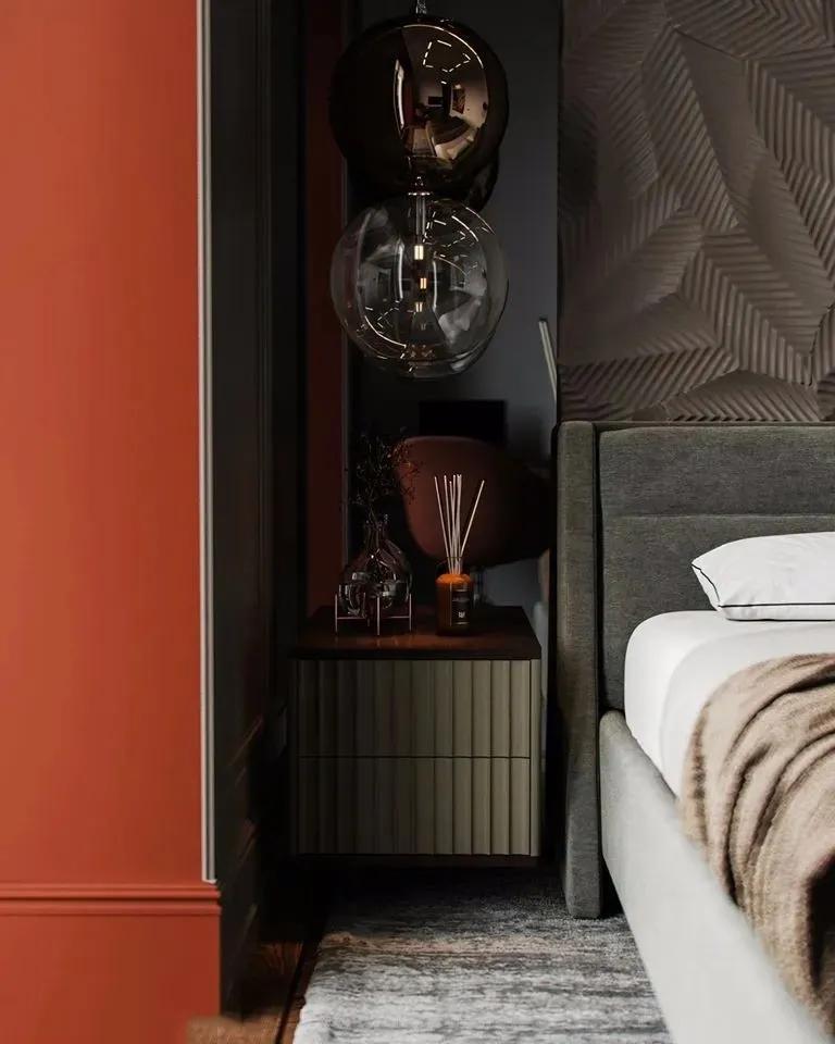 翡翠绿点缀的豪华咖色质感家居 | PROSVIRIN DESIGN