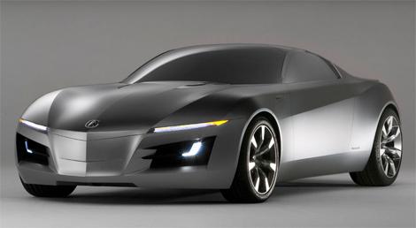 Acura 高级跑车的概念