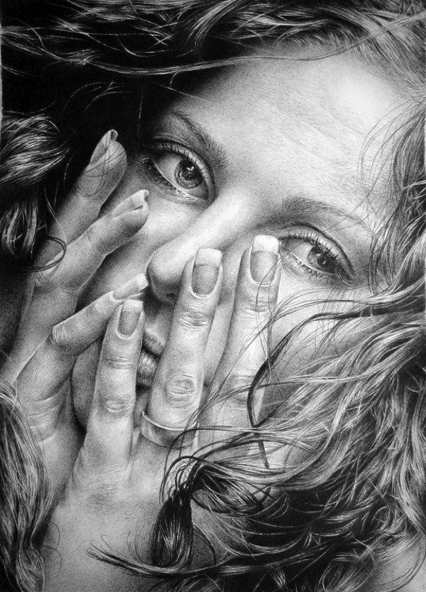 Asaria Marka--amazing pencil drawings