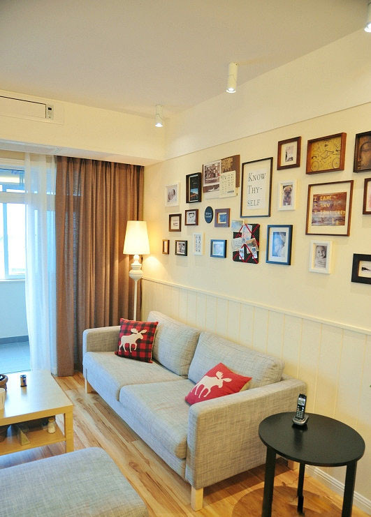 清新北欧风 宜家控打造二居室