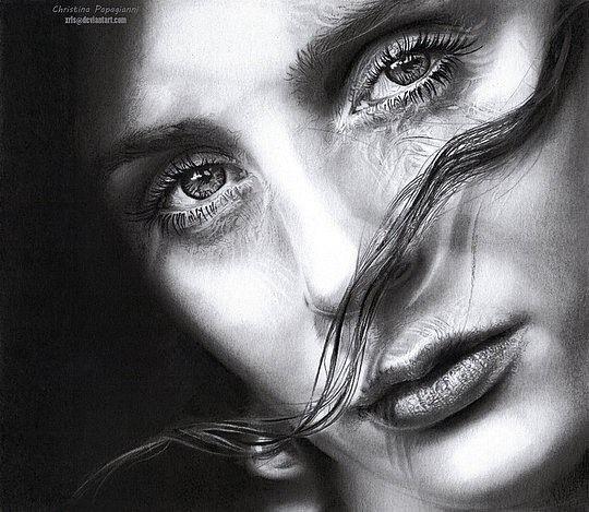 Realistic Portraits by Christina Papagianni