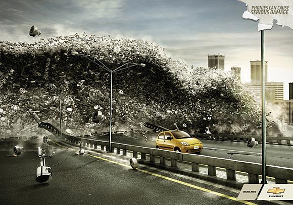 40个汽车广告创意设计
