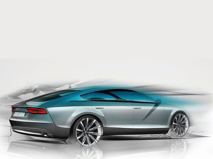 Audi sketch