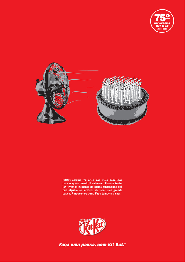 Kit Kat - 75 years - JWT Lisbon