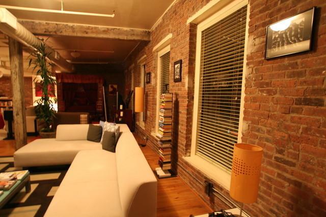 中式混搭公寓 开放式二居室