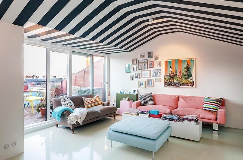 91平米的复式时尚公寓
