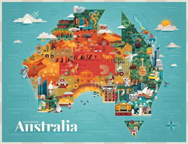 探索澳大利亚