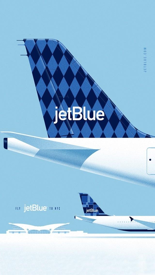 jetblue航空公司广告