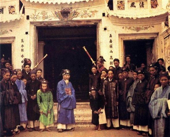 百年前的中国彩照