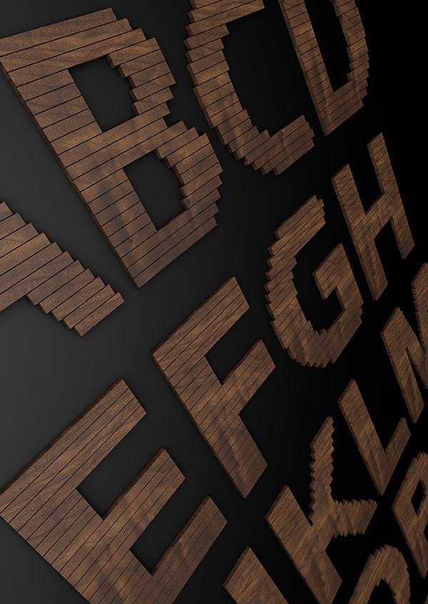耐克字母设计