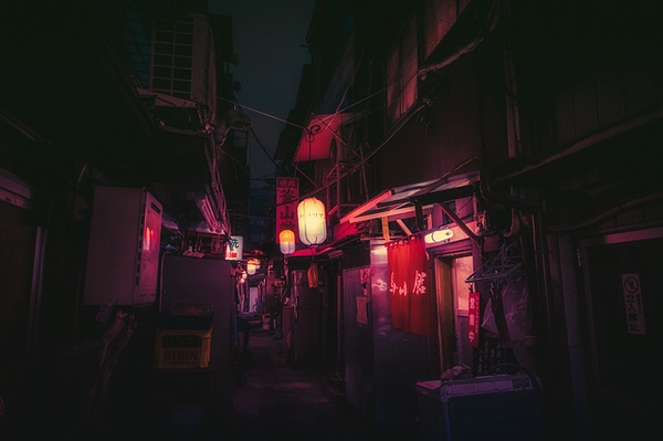 Masashi Wakui的日本街头摄影作品
