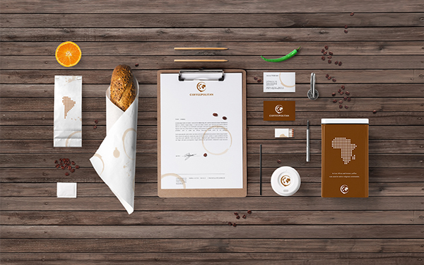 Coffeepolitan企业VI设计