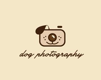 小狗摄影标志