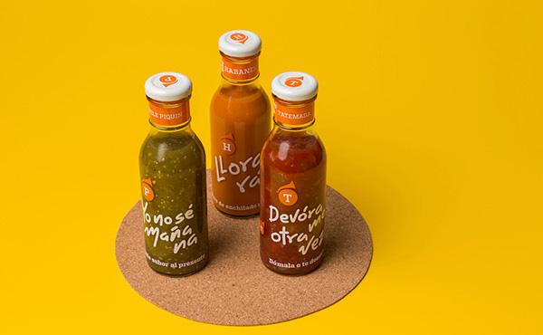 Salsas Tumbao辣椒酱包装设计