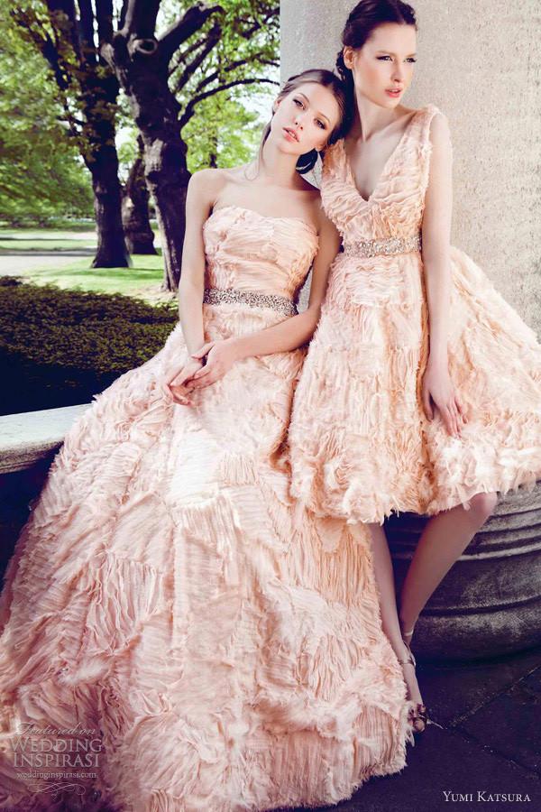 Yumi Katsura 2013春夏系列婚纱
