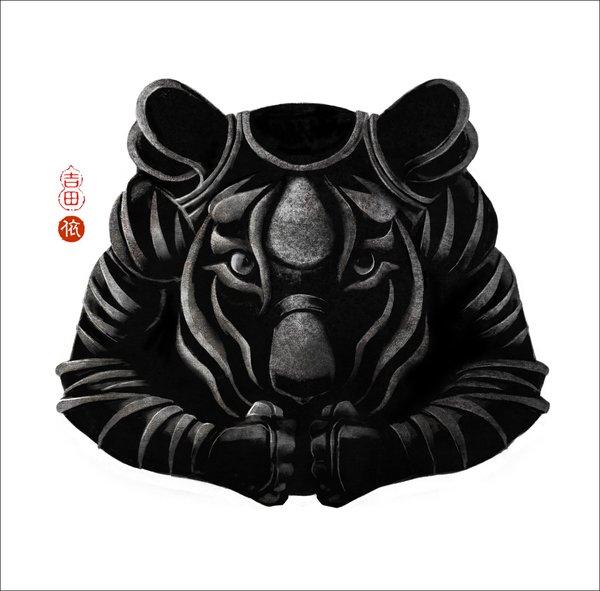 日本设计师Yoriko Yoshida打造的十二生肖盔甲