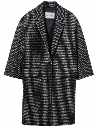 Max Mara品牌2014秋冬女装大衣深色系列新款流行趋势