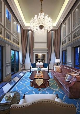 惠州中洲•湾上花园欧式别墅室内设计