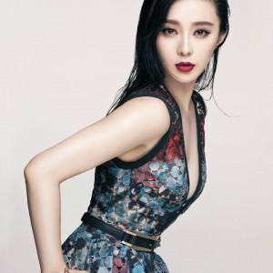 范冰冰演绎《Vogue》杂志台湾版封面大片