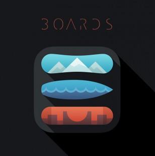 Boards iOS App icon