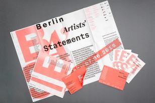 Berlin Artists' Statements
