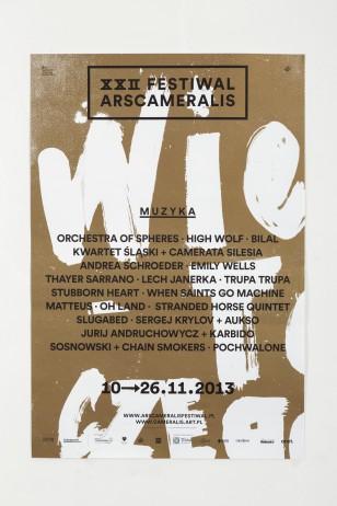 Ars Cameralis Festival 2013 — posters + billboards