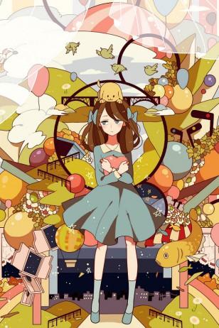 砂屋 - 日本插画师砂屋作品