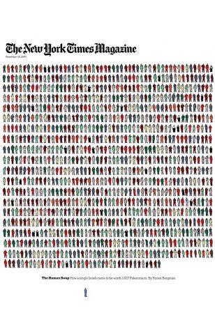 The New York Times Magazine Cover - 《纽约时报杂志》2011年11月13日号封面
