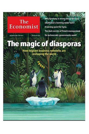 Economist Cover - 《Economist》2011年11月19日号封面