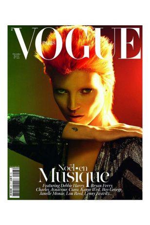 Vogue Paris Cover - 《Vogue》法国版2012年1月号封面