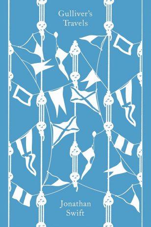 Gulliver's Travels - 乔纳森·斯威夫特《格列佛游记》封面