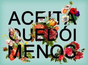 Typography Flower