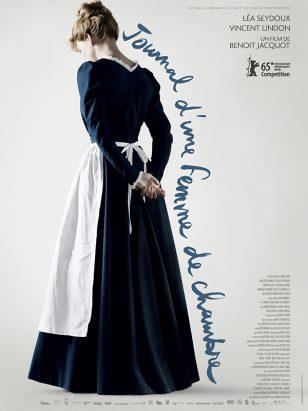 《女仆日记》(Journal d'une femme de chambre)法国正式海报