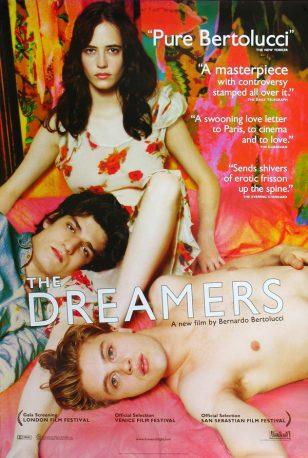 《戏梦巴黎》(The Dreamers)美国正式海报
