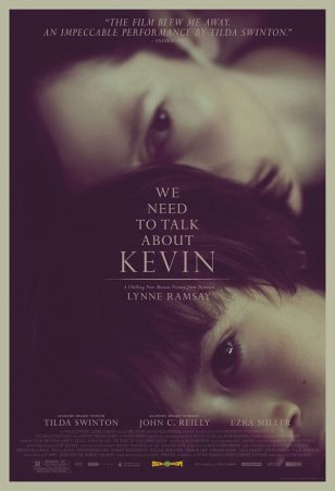《凯文怎么了》( We Need to Talk About Kevin)美国正式海报