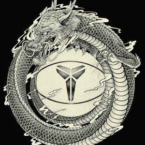 "KOBE BRYANT ""Dragon"" NIKE"