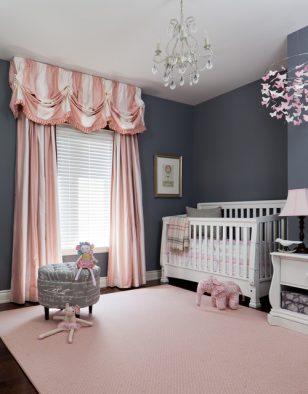 粉色窗帘系列