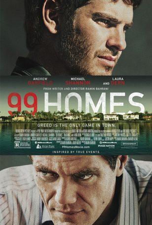 《99个家》(99 Homes)美国正式海报